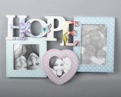 """Фоторамка """"Hope"""" для 3-х фотографий"""