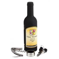 Бутылка-винный набор 0,33