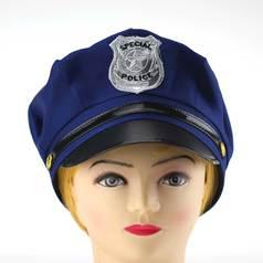 "Шляпа ""POLICE"" - синий цвет"