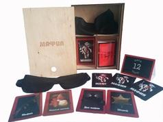 """Подарочный игровой набор """"Мафия"""" в деревянной коробке, Украина"""