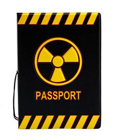 """Обложка для паспорта """"Радиация"""""""